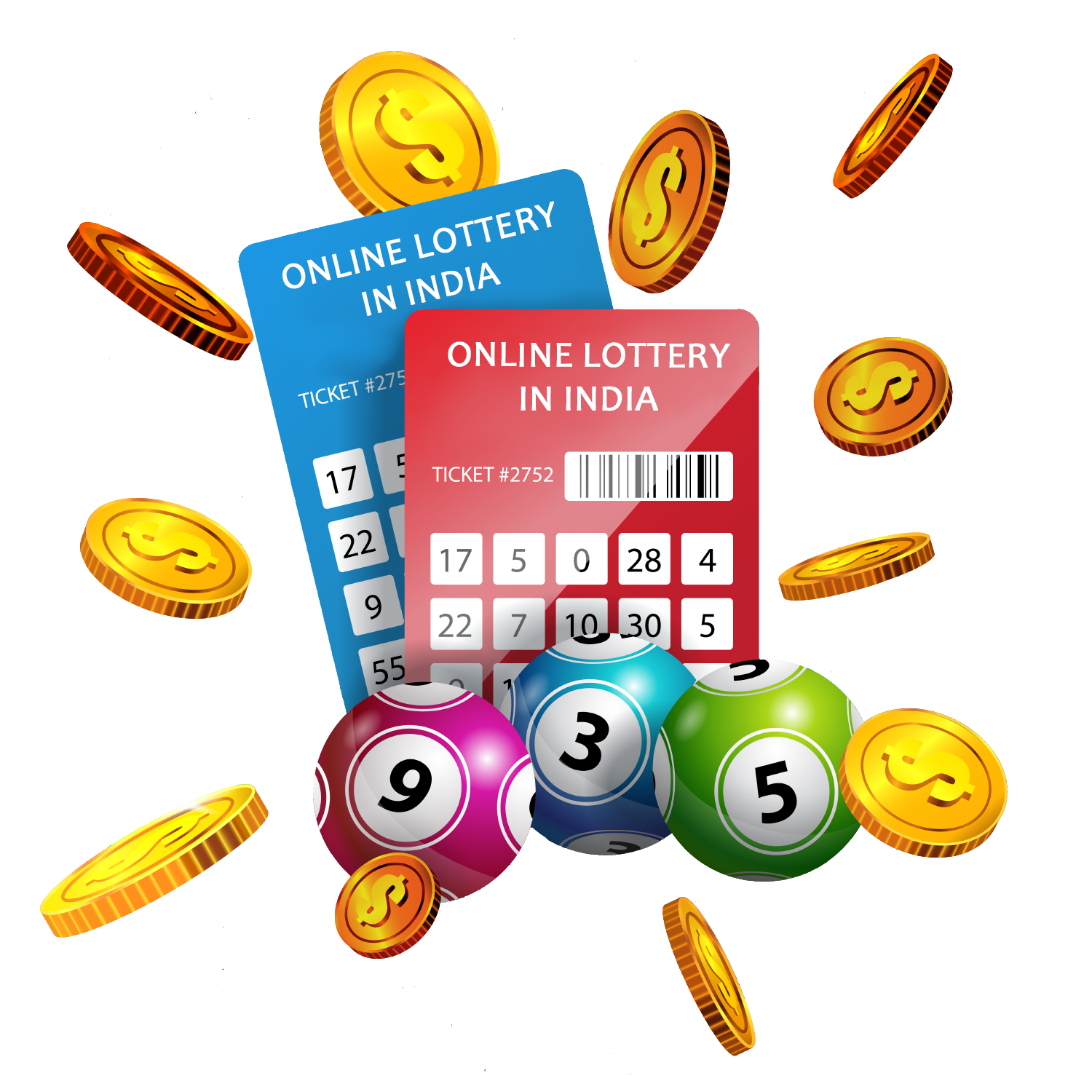 Find out all the information about online lotteries in India from the experts.