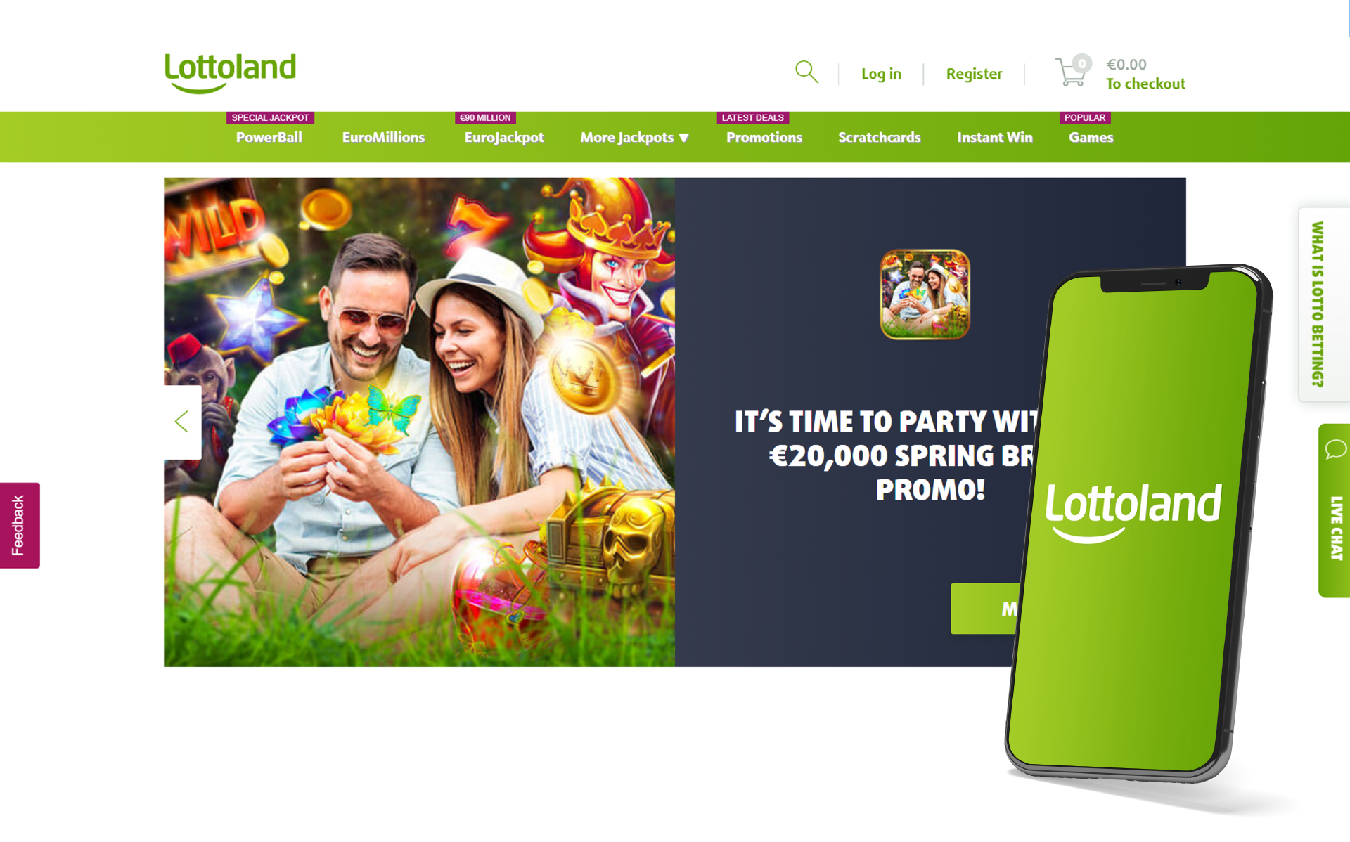 Lottoland is a leader among online lottery operators.