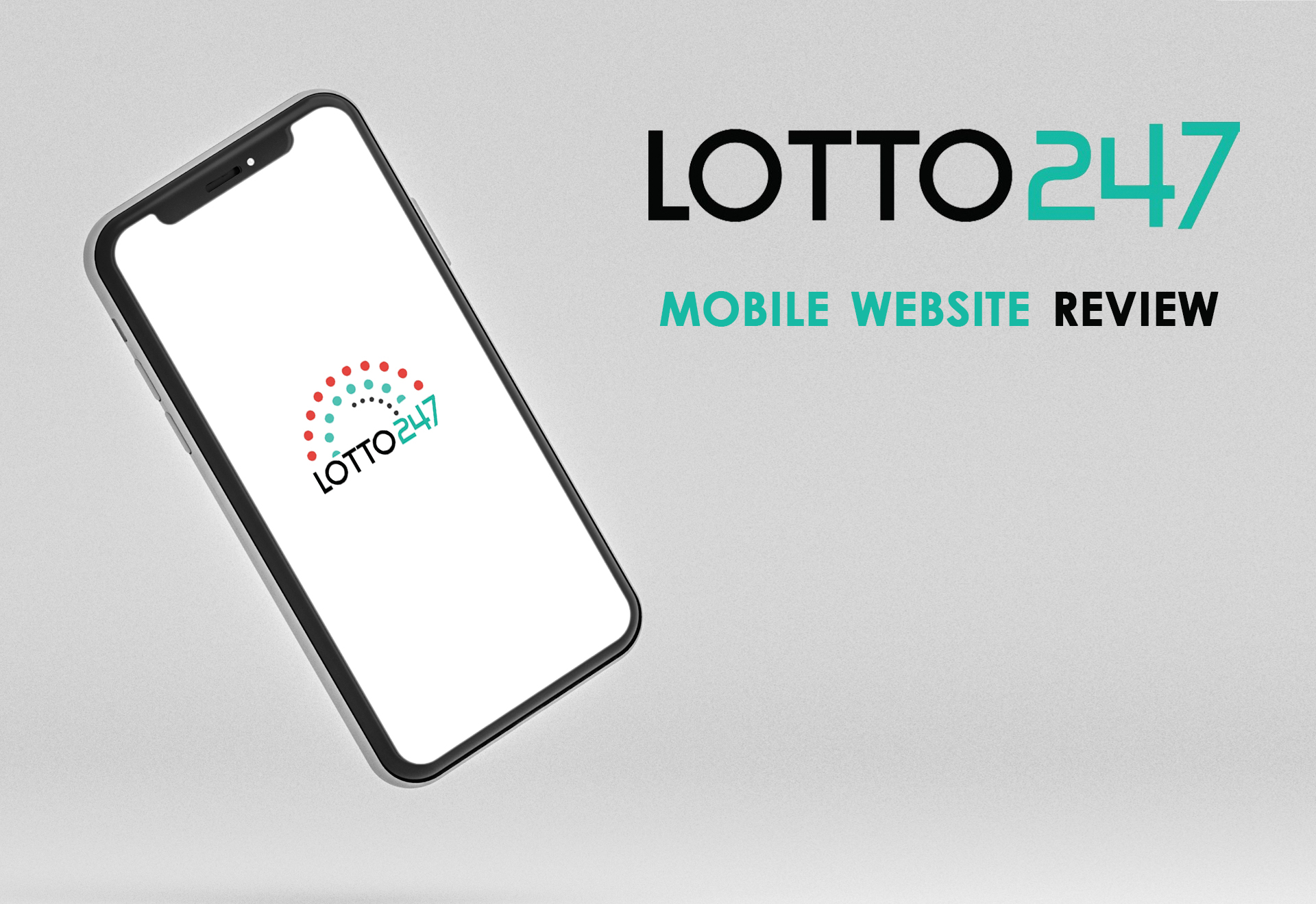 You can buy tickets at the mobile site of Lotto247 as well.