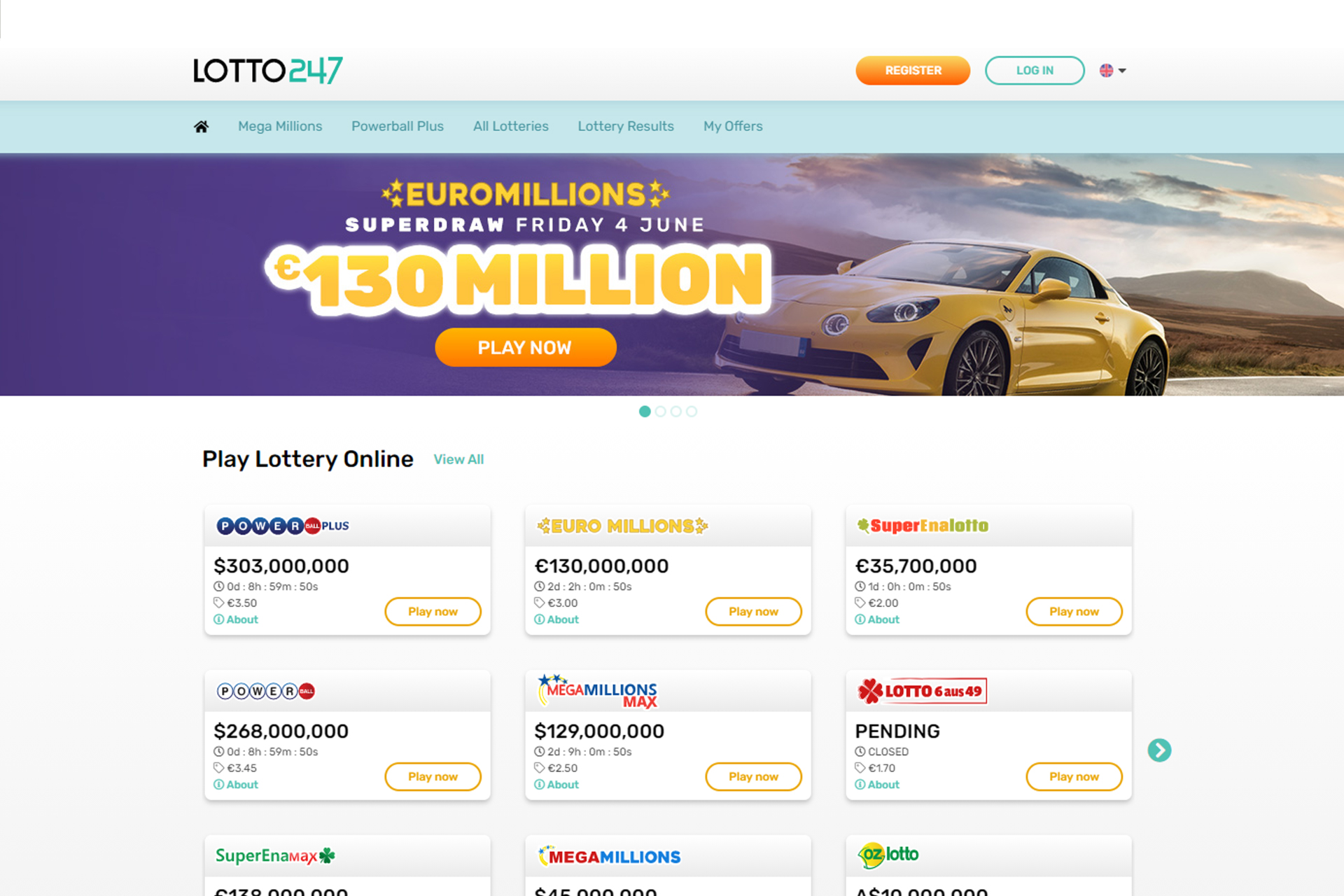Lotto247 is totally legal for Indian players.