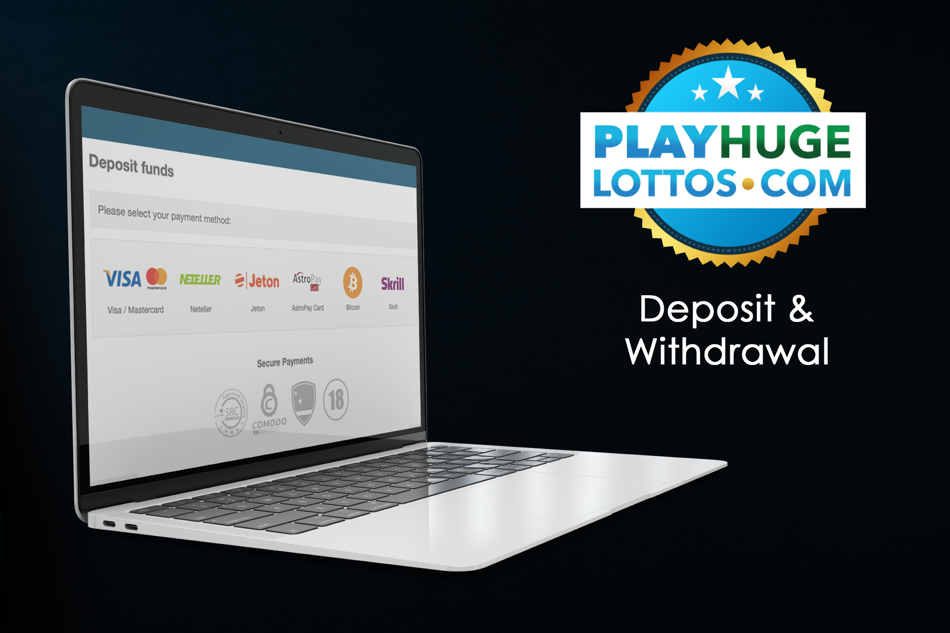 Most of the popular payment services are available to Indian players.
