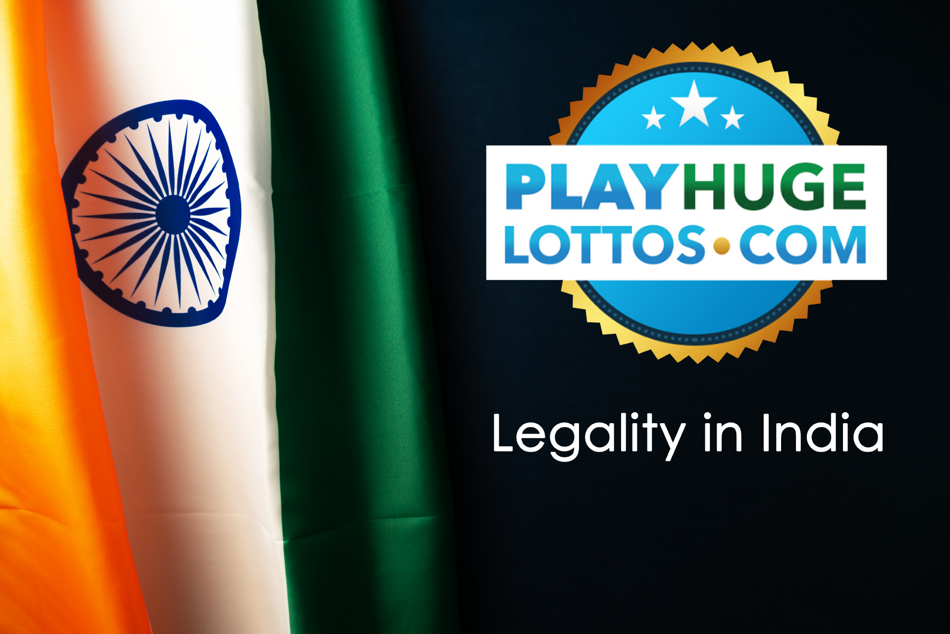 Buying lottery tickets on PlayHugeLotto is legal for Indian users.