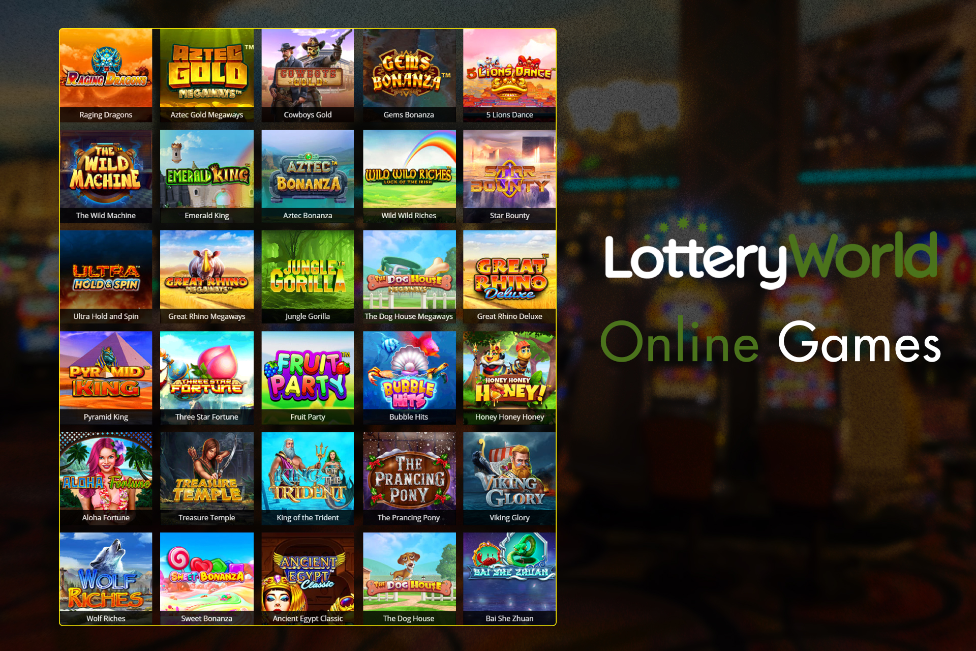 You can also check your fortune in the section of games playing online slots.