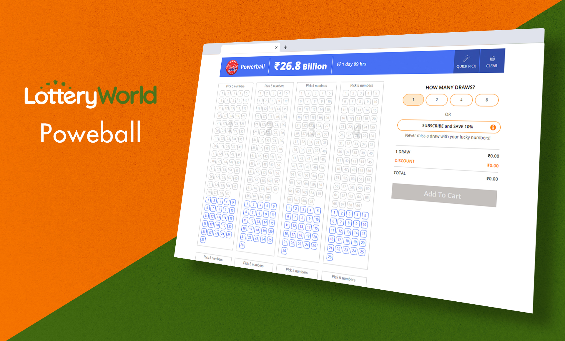 Powerball is one of the most famous lotteries based in the USA.