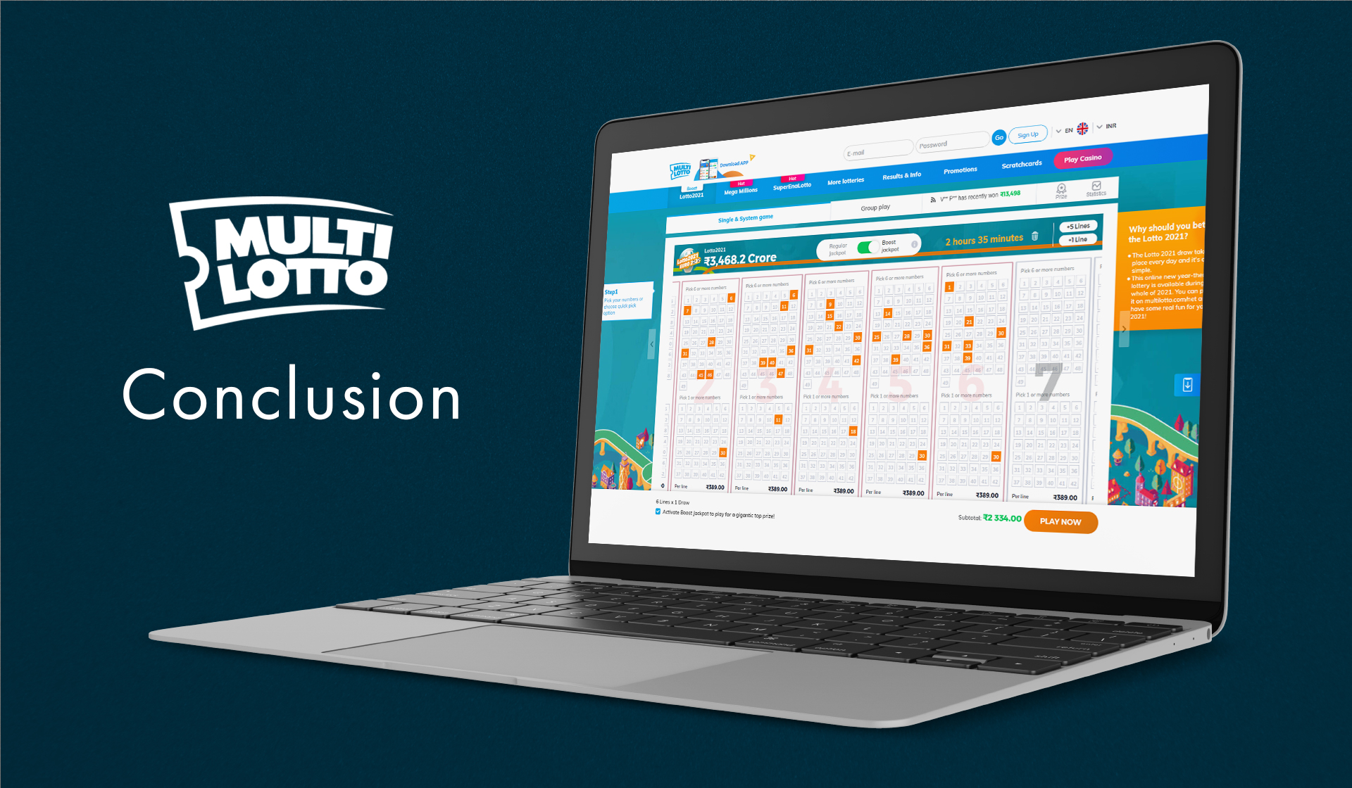 MultiLotto is a trustworthy and legit site that sells tickets to lots of international lotteries from all over the world.