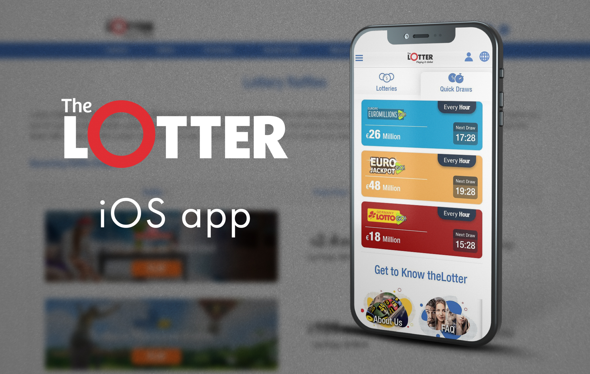 You are an owner of an iPhone download the special app linking from the official site.
