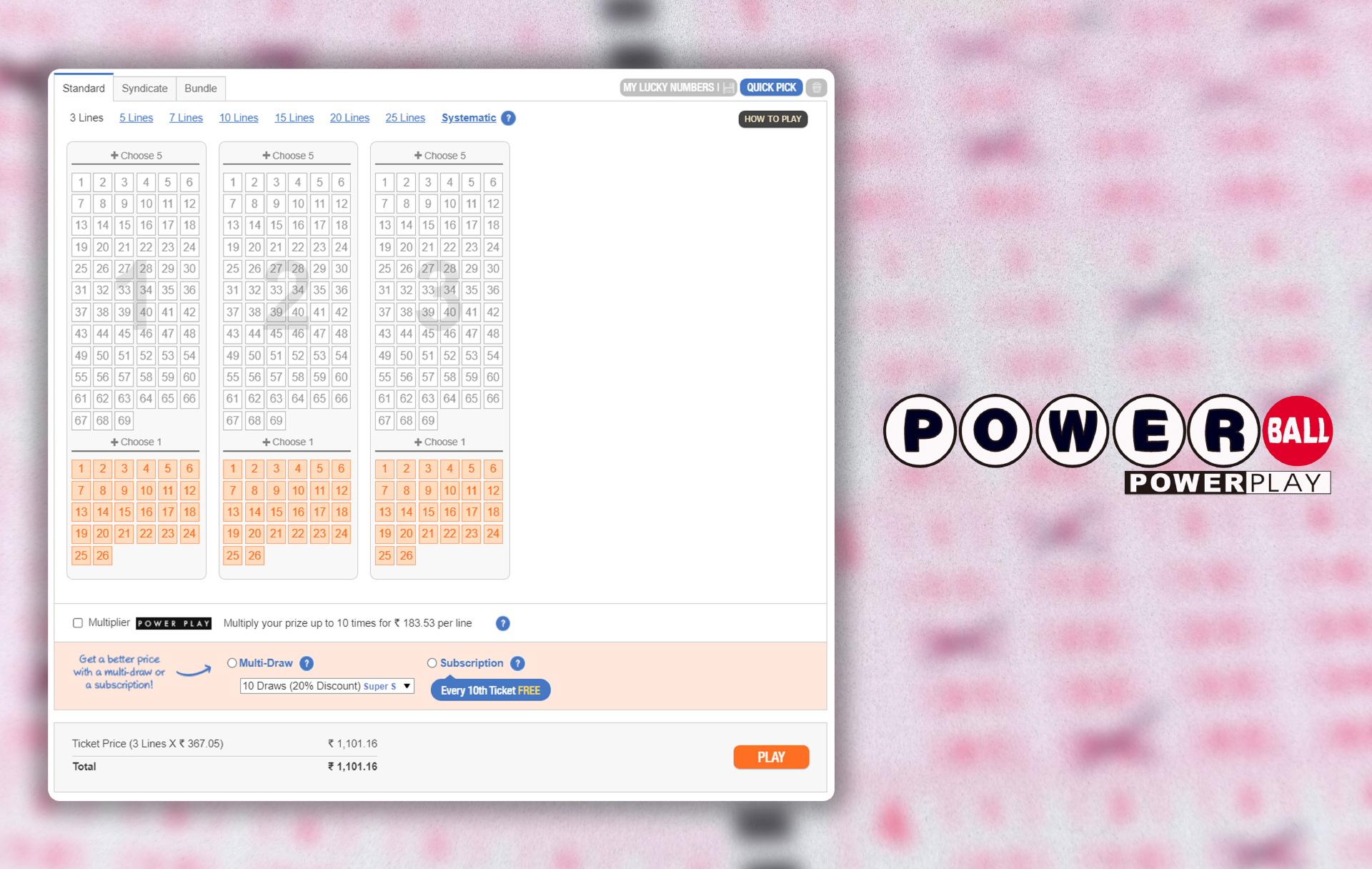 Powerball is another well-known lottery based in America.